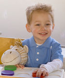 Toddler stock image