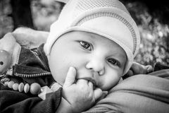 Toddler baby Royalty Free Stock Images