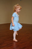 Toddler ballerina stock photos