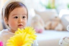 Toddler boy celebrating Easter Royalty Free Stock Images