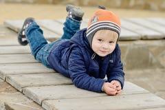 Toddler boy Stock Image