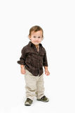 Toddler boy standing Stock Image