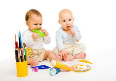 Toddler boys Stock Images
