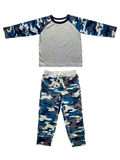 Toddler camouflage suit Royalty Free Stock Photography