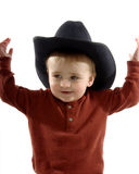 Toddler Cowboy Royalty Free Stock Images