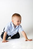 Toddler Crawling Stock Images