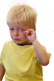 Toddler Crying Stock Images