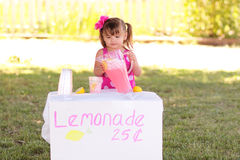 Toddler Entrepreneur Royalty Free Stock Image