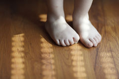 Toddler Foots Royalty Free Stock Photos
