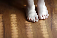 Toddler Foots Stock Photography
