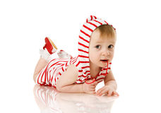 Toddler girl Stock Photo