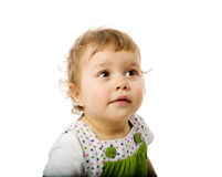 Toddler girl Stock Images