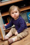 Toddler girl Royalty Free Stock Photo