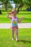 Toddler girl Stock Image