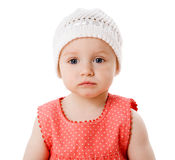 Toddler girl Royalty Free Stock Photo