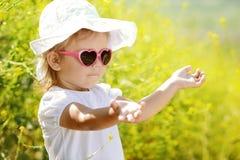 Free Toddler Girl Enjoying Summer Light Royalty Free Stock Images - 31150299