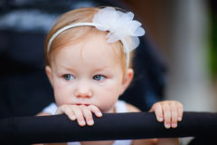Toddler girl portrait Stock Images