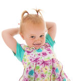 Toddler girl Stock Image