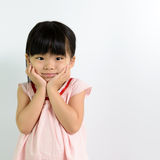 Toddler girl Stock Photo