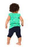 Toddler Girl Walking Away Royalty Free Stock Image