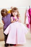 Toddler girls stock photos