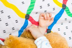 Toddler hands Stock Images
