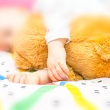 Toddler hands Royalty Free Stock Photos