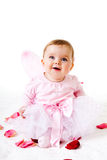 Toddler In A Fairy Outfit Royalty Free Stock Images