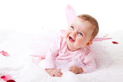 Toddler In A Fairy Outfit Royalty Free Stock Photography