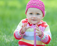 Free Toddler Is Going To Catch Stock Photography - 16216712