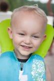 Toddler in Lifejacket Stock Image