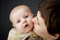 Toddler and mum Royalty Free Stock Photos