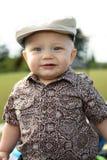 Toddler at a park Stock Photo