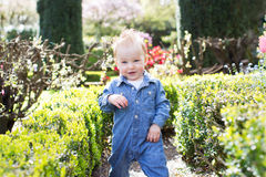 Toddler in the park Royalty Free Stock Photos