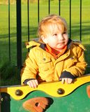 Toddler in park Royalty Free Stock Photography