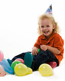Toddler party Stock Photography