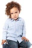 Toddler Photoshoot Stock Image