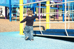 Toddler at play Stock Image