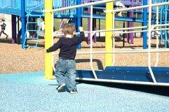 Toddler at play Stock Image