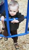 Toddler at Play Royalty Free Stock Image