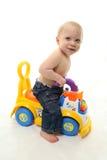 Toddler playing Royalty Free Stock Image