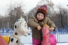 Toddler playing Stock Photo
