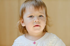 Toddler portrait Stock Photo