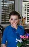 Toddler posing Stock Photos