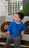 Toddler posing Stock Image