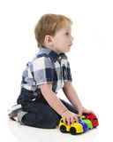 Toddler`s Auto Lineup Stock Image