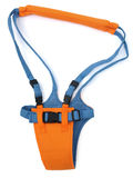 Toddler Safety Harness. Safety Equipment for learning to walk - isolated on white royalty free stock photos