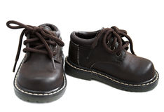 Toddler shoes Stock Photography