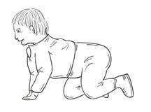 Toddler stock illustration