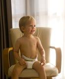 Toddler smiling Stock Image